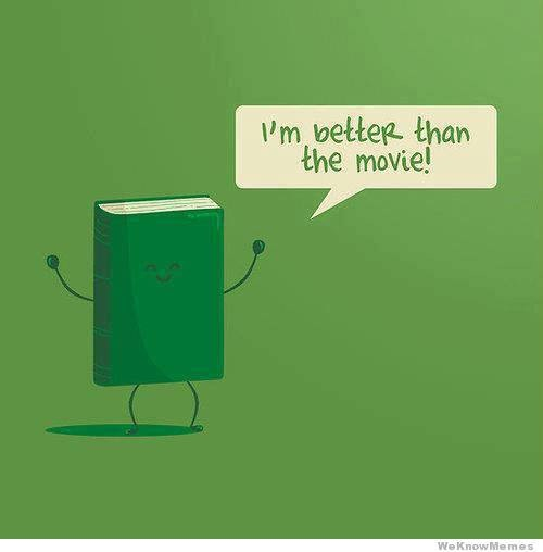 I'm better than the movie!
