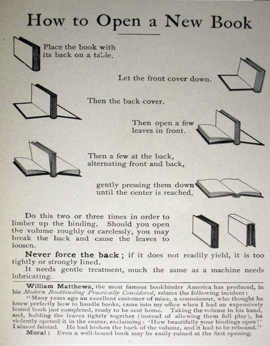 How to Open a New Book (via Boing Boing)