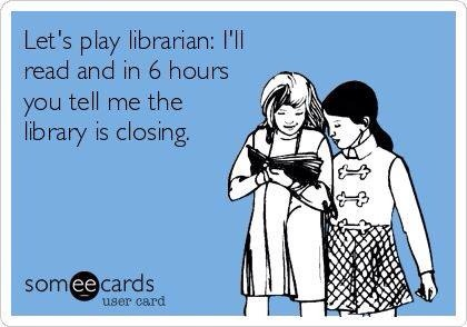 Let's play librarian